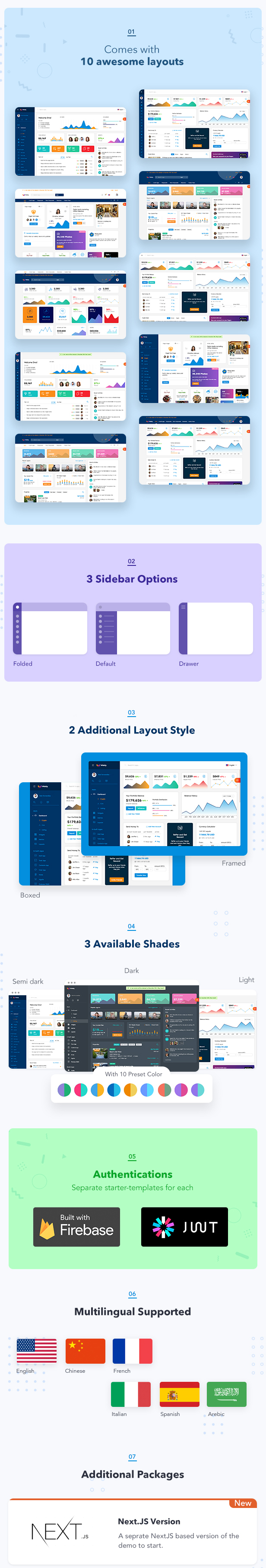 Wieldy - React Admin Template Ant Design and Redux - 2